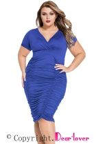 d1641f75227 Dropship US  8.03 Plus Size Bodycon Dresses