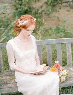 Jane Austen wedding inspiration via Wedding Sparrow blog