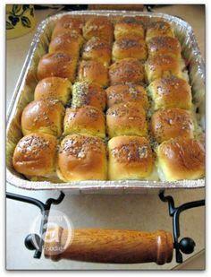 Ham and Cheese Sandwich Casserole using King's Hawaiian Rolls