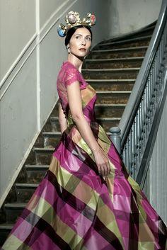 Olga Kypriotou in Zoulias during the Crown The Crown, Fantasy World, Sari, Spring Summer, Collection, Dresses, Design, Women, Fashion