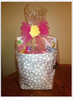 We make great easter baskets! Mini utility bins from Thirty One!