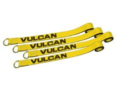 "Set of Four 2"" x 12' Exotic Car Tie Down Straps With Ratchets by Vulcan. $99.98. Patent pending pocketed cross strap adjusts to fit almost any tire from small cars to large trucks. Save 47% Off! Small Cars, Home Hardware, Four, Tie, Patent Pending, Exotic Cars, Cravat Tie, Ties"