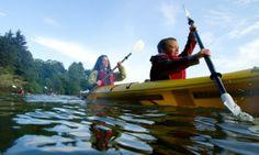 kayak oregon with tillamook kayak co