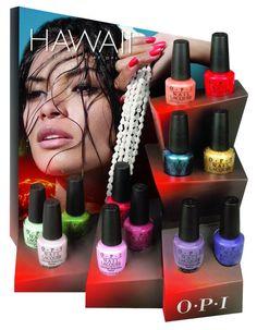 SaintBella Beauty - smink och naglar: OPI Hawaii Collection våren 2015.