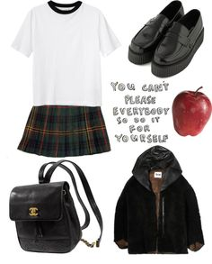 """school sux"" by edenlost on Polyvore"
