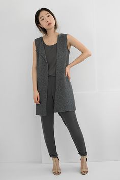 Shibui Knits | Axis Don't want to knit this, but love the look!