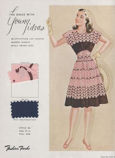 Fashion Frocks 1940s | Flickr - Photo Sharing!