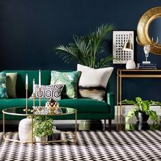 44 Elegant Green Living Room Design Ideas 44 Elegant Green Living Room Design Ideas – Decorating a living room shouldn't be too extravagant and expensive. If you are in a tight budget, you can always do it yourself instead of hiring an … Glam Living Room, Elegant Living Room, Living Room Green, Cozy Living Rooms, Budget Living Rooms, Art Deco Living Room, Colourful Living Room, Modern Minimalist Living Room, Living Room Modern