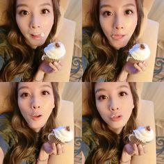 delicious #s'more #cupcake !#jaekyung #LA #get_it_beauty #뷰티MC #Kcon pic.twitter.com/Ue5p4pDwJB