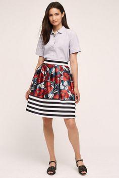 Callam Skirt #anthropologie