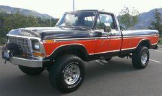 1978 Ford F250 4x4 59k original miles A/C, US $15,500.00, image 3