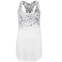 AllSaints Cheetara Vest ($78) ❤ liked on Polyvore
