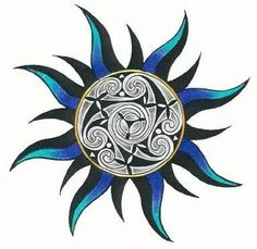 celtic sun tattoo view the best designed celtic sun tattoo