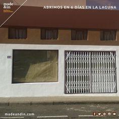 Dentro de 6 días abrimos las puertas de nuestra tienda de La Laguna