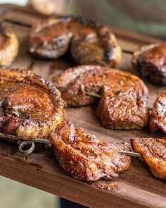 Picanha Skewers are fabulous for the grill. Try these for a summer crowd please at your next party or gathering.