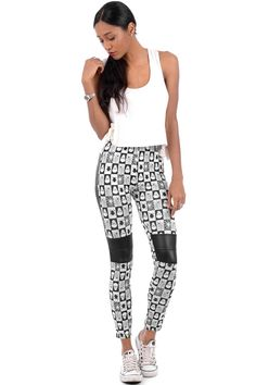 Skull And Spider Print Leggings only for £7.99 visit Essence Clothing to check out more items on sale.