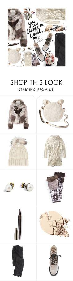 """Faux Fur Fashion"" by mia-christine ❤ liked on Polyvore featuring Urbancode, LC Lauren Conrad, Jocelyn, prAna, John Hardy, Muk Luks, Laura Mercier, Wrap, Dolce Vita and contestentry"