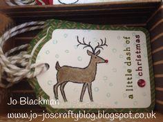 Stampin Up - White Christmas tag Christmas Name Tags, Stampin Up Christmas, Christmas Mom, Diy Christmas Ornaments, White Christmas, Christmas Ideas, Card Tags, I Card, Gift Tags