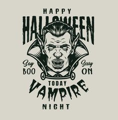 Monochrome Halloween Vampire costume design from 21 Halloween designs. 30% OFF until October 31! Download Halloween vector designs on www.dgimstudio.com. For personal and commercial use. #vampire #halloween #halloween2020 #halloweencostume #halloweendesign #tshirtdesign #appareldesign