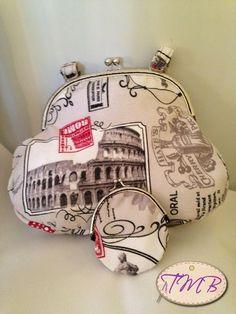 Cosiendo a Mano #bolso #DIY #manualidades #hechoamano #tela #regalo #present #handmade #personalizado #monedero