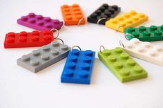 Chocolate Mint Crafts LEGO Necklaces