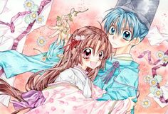 Now this is quite the adorable anime wallpaper with the cuties and the like.