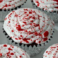 easy scary halloween cupcakes