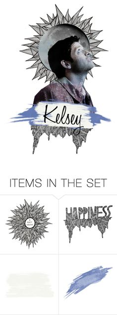 """//Closed Castiel Icon//"" by alyssaclair-winchester ❤ liked on Polyvore featuring art, supernatural and castiel"