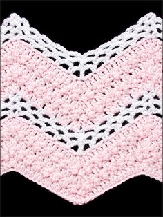 lacy v stitch ripple afghan crochet pattern | The Ripple – Crochet Cabana – learn to crochet, free patterns