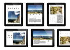 NOUS iPad magazine by Adam Katyi, via Behance