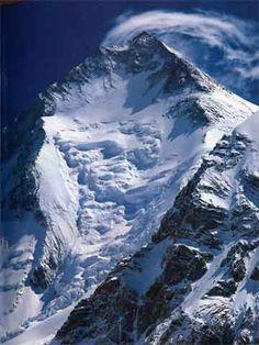 Gasherbrum I From Gasherbrum Base Camp - The Karakoram: Mountains of Pakistan book