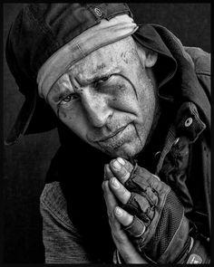 leroy skalstad portraits of homeless people