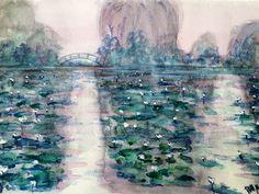 Monet gardern