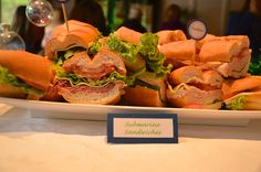 """""""Submarine"""" Sandwiches"""
