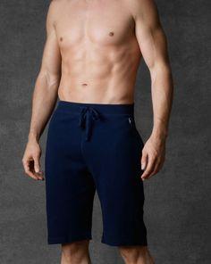 Waffle-Knit Pajama Short - Polo Ralph Lauren Sleepwear - RalphLauren.com