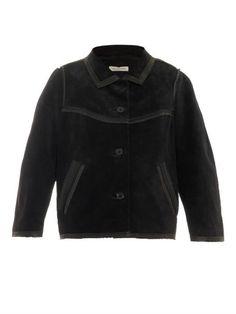 cf70e39b09 marant 201 toile halden tweed jacket in black Tweed Jacket, Leather Jacket,  Suede,