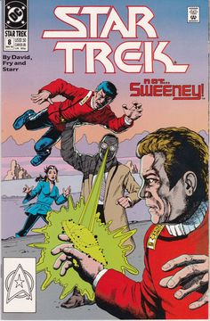 Star Trek DC Comic Book 8 May 1990 not. vintage collectible Comic book has been in sleeve since purchase. Dc Comics, Star Comics, Comics Online, Star Trek Enterprise, Star Trek Voyager, Dc Comic Books, Comic Book Covers, Star Trek 1, Star Trek Original Series