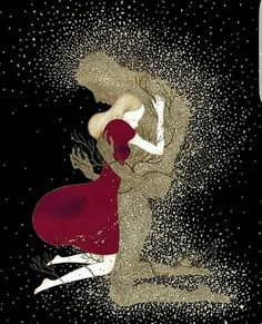 Find images and videos about love, illustration and imagination on We Heart It - the app to get lost in what you love. Art Magique, Dad In Heaven, Tableau Design, Illustration, Love Wallpaper, Couple Art, Eye Art, Love Images, Cute Wallpapers