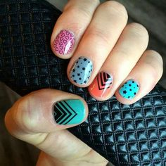 Love layering jamberry wraps and lacquer! Check out adealsjams.jamberrynails.net to order yours today!