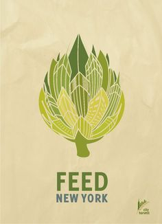 City Harvest's Feed New York Print Ads by Reese Panganiban, via Behance