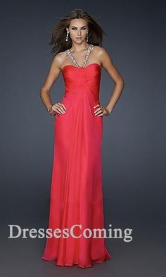 Long Chiffon Prom Dress, Long Chiffon Prom Dress, Long Chiffon Prom Dress