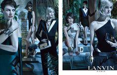 La campagne Lanvin printemps-été 2013    La marque: Lanvin    Les mannequins: Saskia de Brauw et Daria Strokous    Le photographe: Steven Meisel