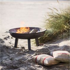 Garden Trading Foscot Outdoor Fire Pit in Raw Steel - Medium Fire Pit And Barbecue, Bbq, Outdoor Fire, Outdoor Decor, Steel Fire Pit, Fire Pits, Cotswold Villages, Wedding Gift List, Garden Fire Pit