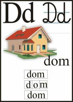 Polish Alphabet, Learn Polish, Montessori, Poland, Diy And Crafts, Exercise, Education, Learning, Toys