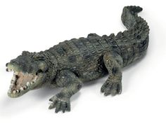 Schleich Crocodile at theBIGzoo.com, an animal-themed superstore.