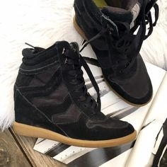 efefe2eef956 Sam Edelman black sneaker wedge Super chic and on trend! Open to offers  through offer button ❤ Sam Edelman Shoes Sneakers