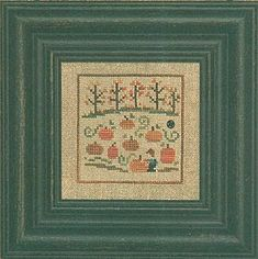 Pumpkins - Cross Stitch Patterns & Kits - 123Stitch.com