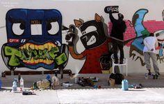 Esse é o trabalho feito pelos grafiteiros que foram agredidos e presos em Mogi das Cruzes