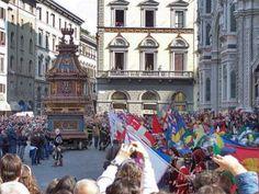 Lo Scoppio del Carro, Pasen in Florence
