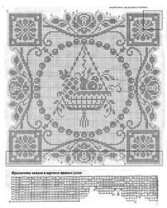 MIRIA CROCHÊS E PINTURAS: CENTROS QUADRADOS PARA MESA N° 331